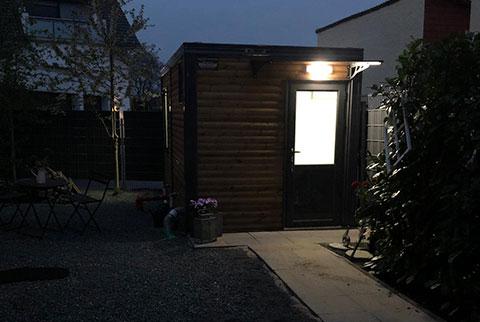 Gartenhütten Ausstattung
