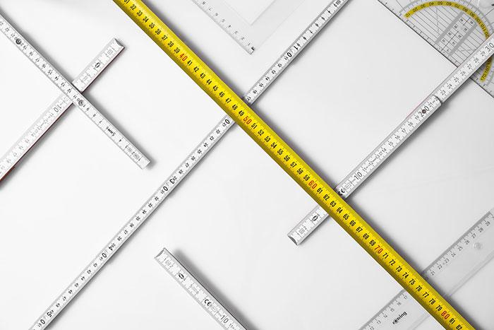 Maße und Formen